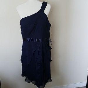 Adrianna Papell navy blue dress, NWT size 16